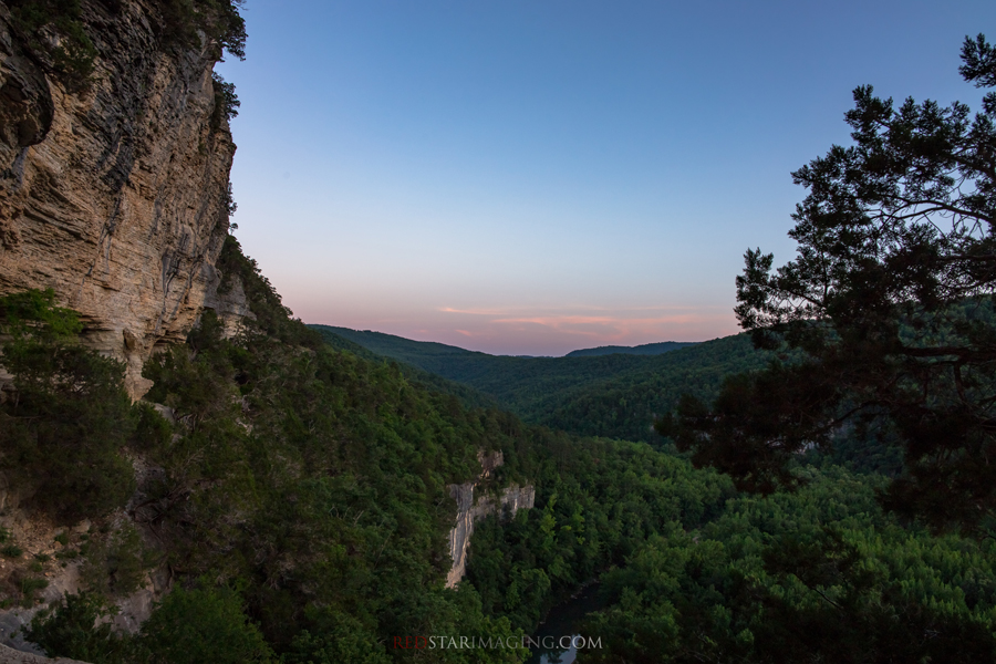 Goat Trail Sunset - Ozarks