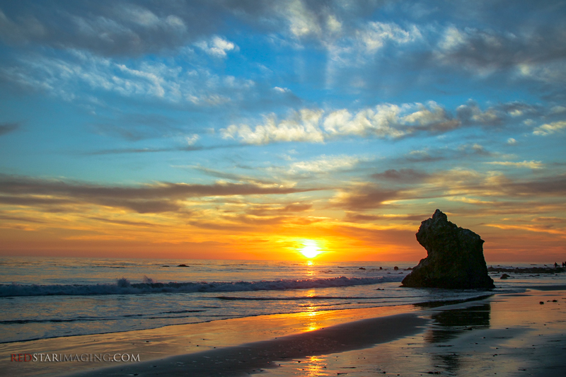 Magnificent Malibu Sunset