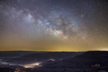 Milky Way from Arkansas Grand Canyon