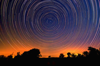 Polaris Star Trails - The cycle of Life